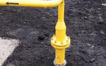 Охранная зона газопровода высокого давления...